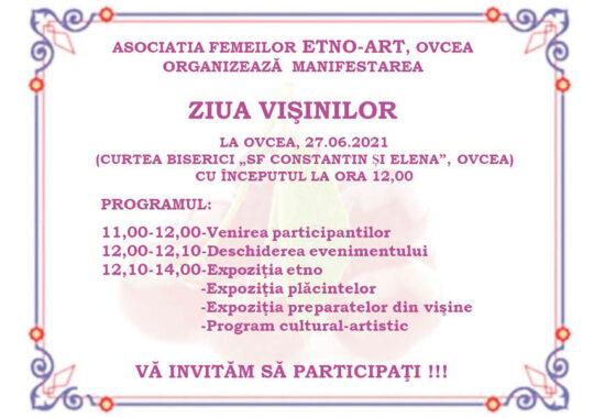 Invitaţie- Ziua Vişinilor