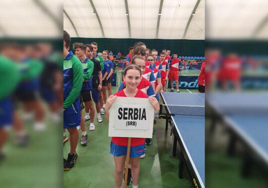 Serbia, campion balcanic la dublu