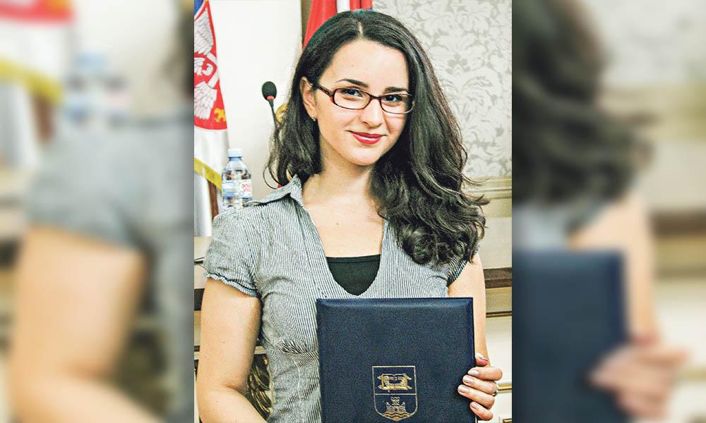 Mr. biolog, asistent de cercetare – Mariana Oalge din Uzdin