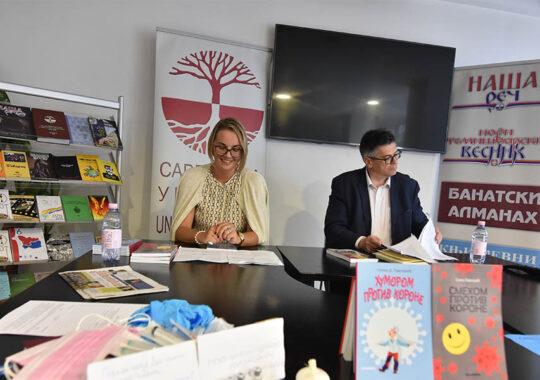 Lansarea ediției în limba sârbă la Timișoara
