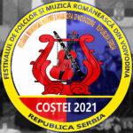 PROGRAMUL FESTIVALULUI DE FOLCLOR ŞI MUZICĂ ROMÂNEASCĂ DIN VOIVODINA –REPUBLICA SERBIA COŞTEI 2021