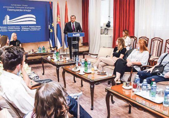 Milošević: Calea studenţilor cu dizabilităţi este orientată către însuşirea cunoştinţelor şi deplina integrare în procesele de muncă