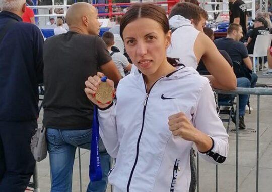 Sandra Maran campioana națională la box