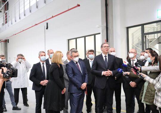 """""""Aceasta este, probabil, cea mai bună fabrică din Serbia"""""""