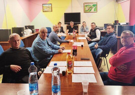 Ședința Consiliului de Administrație al Festivalului de Folclor și Muzică Românească din Voivodina, Republica Serbia